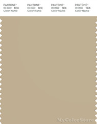 PANTONE SMART 15-1216X Color Swatch Card, Pale Khaki