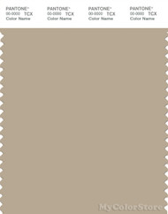PANTONE SMART 15-1307X Color Swatch Card, White Pepper