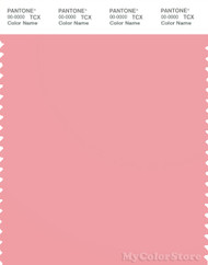 PANTONE SMART 15-1717X Color Swatch Card, Pink Icing