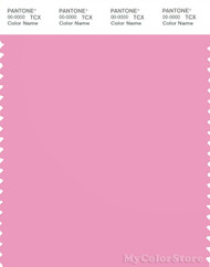 PANTONE SMART 15-2215X Color Swatch Card, Begonia Pink