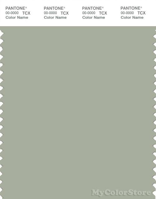 PANTONE SMART 16-0110X Color Swatch Card, Desert Sage