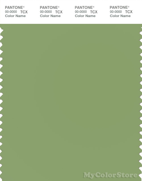 PANTONE SMART 16-0123X Color Swatch Card, Tendril