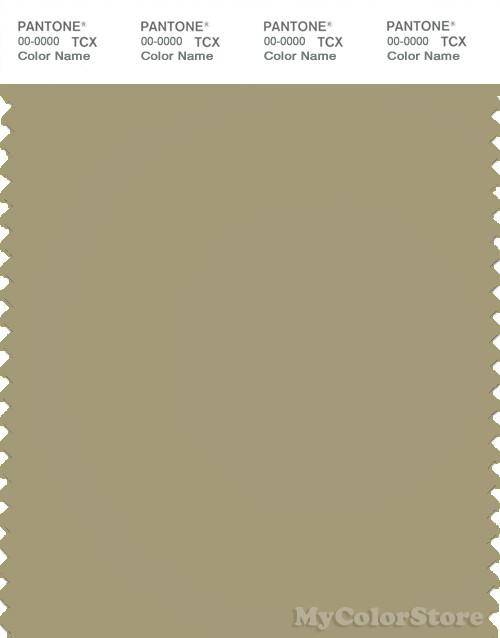 PANTONE SMART 16-0518X Color Swatch Card, Gray Green