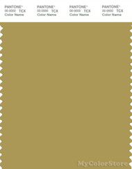 PANTONE SMART 16-0737X Color Swatch Card, Burnished Gold