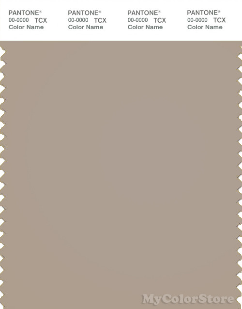 PANTONE SMART 16-0906X Color Swatch Card, Simply Taupe