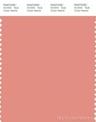 PANTONE SMART 16-1329X Color Swatch Card, Coral Haze
