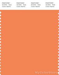 PANTONE SMART 16-1343X Color Swatch Card, Autumn Sunset