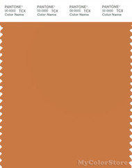 PANTONE SMART 16-1346X Color Swatch Card, Golden Ochre