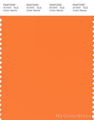 PANTONE SMART 16-1359X Color Swatch Card, Orange Peel