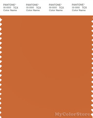 PANTONE SMART 16-1448X Color Swatch Card, Burnt Orange