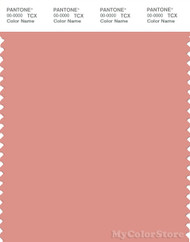 PANTONE SMART 16-1520X Color Swatch Card, Lobster Bisque