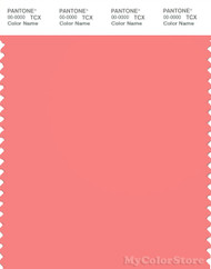PANTONE SMART 16-1632X Color Swatch Card, Shell Pink