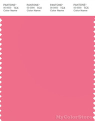 PANTONE SMART 16-1735X Color Swatch Card, Pink Lemonade