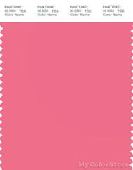 PANTONE SMART 16-1735X Color Swatch Card, Pink Lemonade