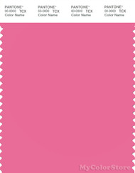 PANTONE SMART 16-2126X Color Swatch Card, Azalea Pink