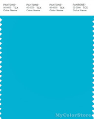 PANTONE SMART 16-4535X Color Swatch Card, Blue Atoll