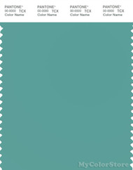 PANTONE SMART 16-5412X Color Swatch Card, Agate Green