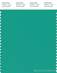 PANTONE SMART 16-5421X Color Swatch Card, Sea Green