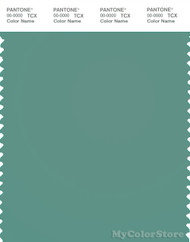 PANTONE SMART 16-5515X Color Swatch Card, Beryl Green