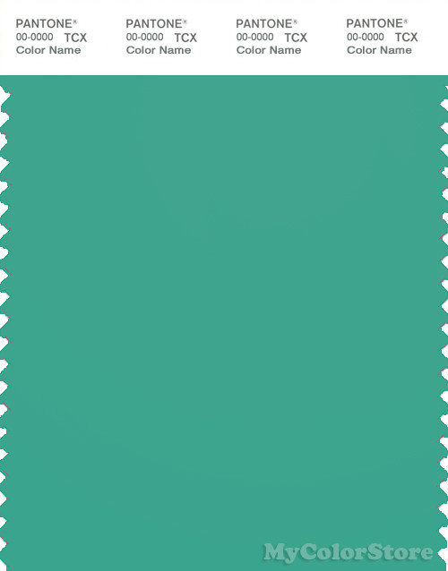 pantone smart 16 5721 tcx color swatch card pantone marine green
