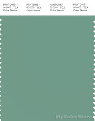 PANTONE SMART 16-5917X Color Swatch Card, Malachite Green