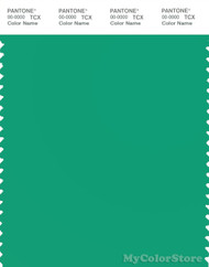 PANTONE SMART 16-5932X Color Swatch Card, Holly Green