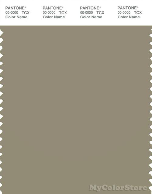 PANTONE SMART 17-0510X Color Swatch Card, Silver Sage