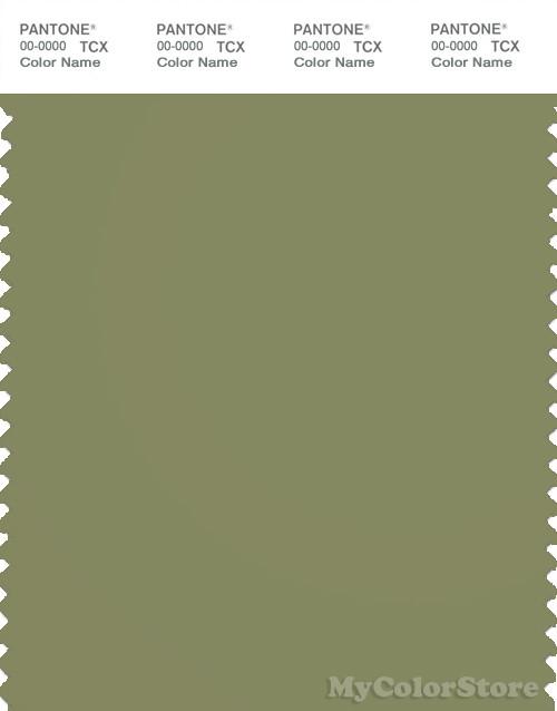 PANTONE SMART 17-0525X Color Swatch Card, Mosstone