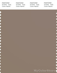 PANTONE SMART 17-0808X Color Swatch Card, Taupe Gray