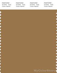 PANTONE SMART 17-1036X Color Swatch Card, Bistre