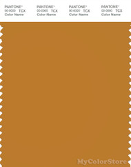 PANTONE SMART 17-1048X Color Swatch Card, Inca Gold