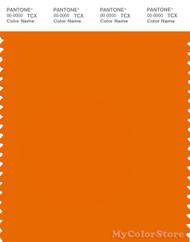PANTONE SMART 17-1349X Color Swatch Card, Exuberance