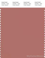 PANTONE SMART 17-1424X Color Swatch Card, Brick Dust
