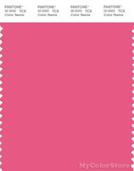 PANTONE SMART 17-1937X Color Swatch Card, Hot Pink