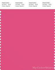 PANTONE SMART 17-2033X Color Swatch Card, Fandango Pink