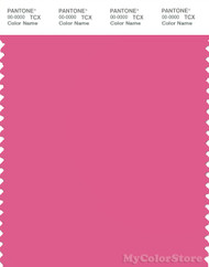 PANTONE SMART 17-2127X Color Swatch Card, Shocking Pink