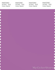 PANTONE SMART 17-3323X Color Swatch Card, Iris Orchid