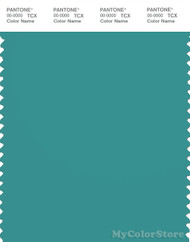 PANTONE SMART 17-5122X Color Swatch Card, Latigo Bay