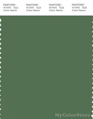 PANTONE SMART 18-0121X Color Swatch Card, Elm Green