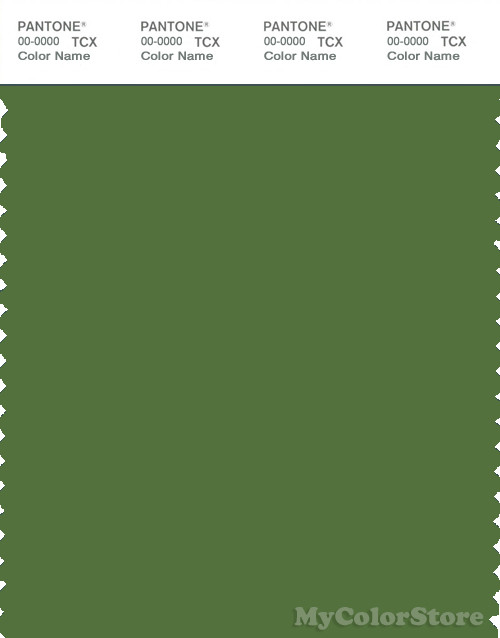 PANTONE SMART 18-0130X Color Swatch Card, Cactus