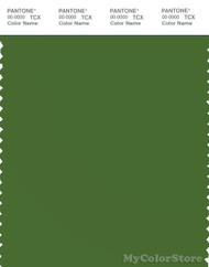 PANTONE SMART 18-0135X Color Swatch Card, Treetop