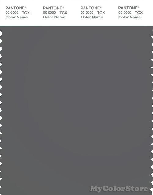 PANTONE SMART 18-0201X Color Swatch Card, Castlerock