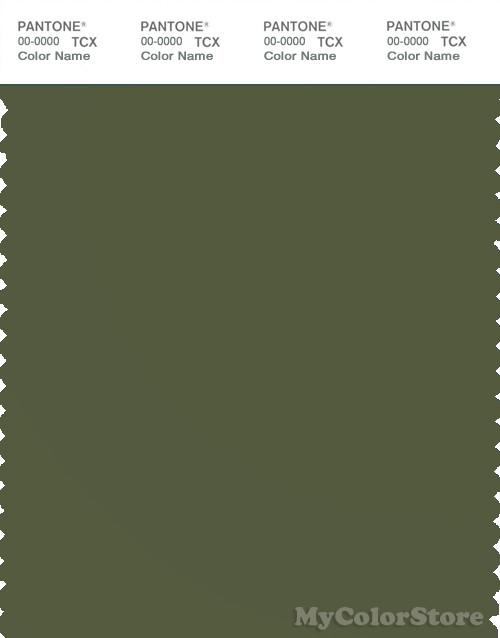 PANTONE SMART 18-0322X Color Swatch Card, Cypress