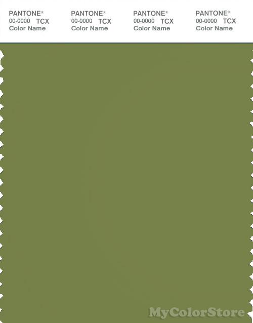 PANTONE SMART 18-0332X Color Swatch Card, Grasshopper