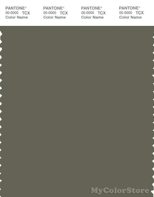 Pantone Smart 18 0515 Tcx Color Swatch Card Pantone Dusty Olive
