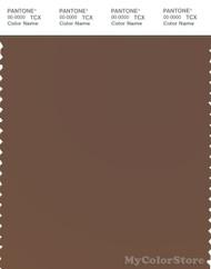 PANTONE SMART 18-1222X Color Swatch Card, Cocoa Brown