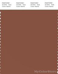 PANTONE SMART 18-1238X Color Swatch Card, Rustic Brown