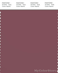 PANTONE SMART 18-1418X Color Swatch Card, Crushed Berry