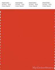 PANTONE SMART 18-1445X Color Swatch Card, Spicey Orange