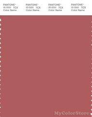 PANTONE SMART 18-1630X Color Swatch Card, Dusty Cedar